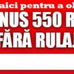 bonus pariuri winmasters 550 ron fara rulaj